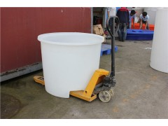 重慶一噸食品叉車塑料桶廠家 托盤叉車桶 1000L叉車桶批發