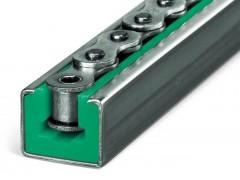 CKG型滾珠鏈條導軌 20B鏈條導槽 皮帶機專用滑軌來圖定制