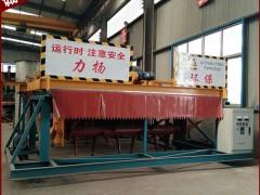 菏澤雞糞堆肥發酵內控4米軌道式翻拋機的土建安裝及成本