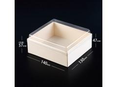 卡木龙包装盒日料外卖刺身三文鱼打包盒寿司盒日式外卖盒子木高档