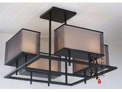 新中式吊灯定制  卧室新中式灯具