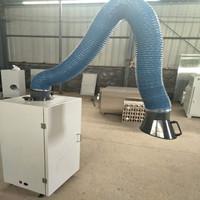 厂家定做 移动式焊烟净化器双臂工业吸尘器车间烟雾净化器单臂