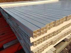 呼和浩特PVC格栅管供应多孔地埋方孔穿线保护管四孔九孔方管
