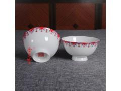 纪念礼品老人生日寿宴陶瓷碗定做厂家