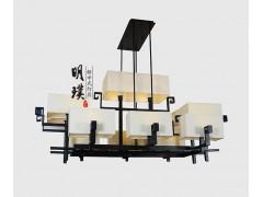 现代新中式吊灯宴会厅新中式吊灯
