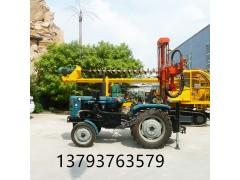 厂家促销HQZ100拖拉机式打井机 水井钻机 质保一年