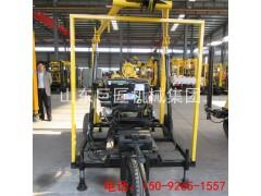 巨匠轮式液压岩芯钻机 移场方便 拖挂岩芯钻机性价比高