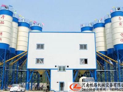 河南畅路专业定制生产销售HZS240混凝土搅拌站