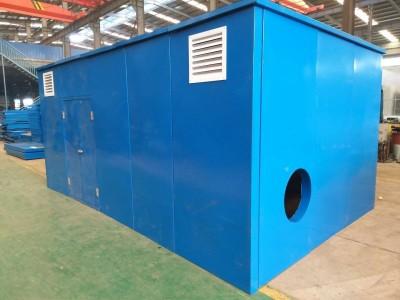 工业机械的噪音处理罗茨风机隔音房