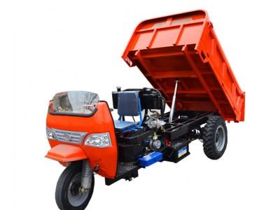 柴油自卸三轮车 道路沙土运输 结实耐用 可定做