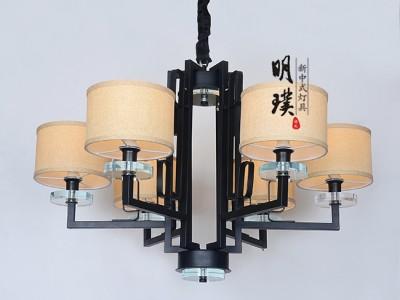 餐厅新中式吊灯   明璞新中式吊灯