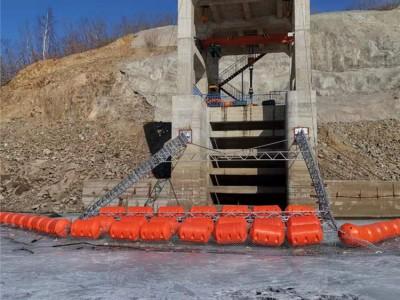 引流式水电站拦漂装置塑料袋生活垃圾拦污索价格
