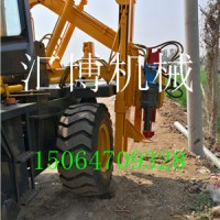 生产多功能护栏打桩机  HB-30护栏立柱打桩机 厂家最新款