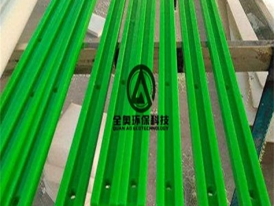 耐磨绿色尼龙导槽 滑动MC尼龙导轨 生产线塑料卡槽加工