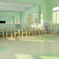 常州幼儿园pvc板材防滑抗菌绿质厂家直销