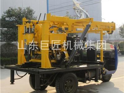 三轮车勘探运输方便XYC-200A汽车式钻机地勘取芯钻机