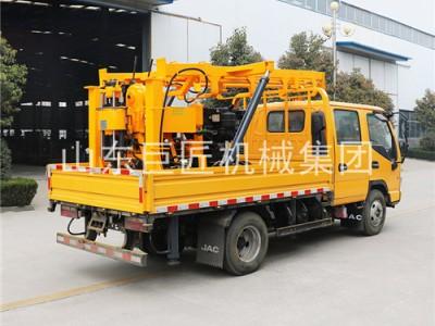 开车去取岩芯钻机XYC-200车载液压钻机立轴式岩心钻机