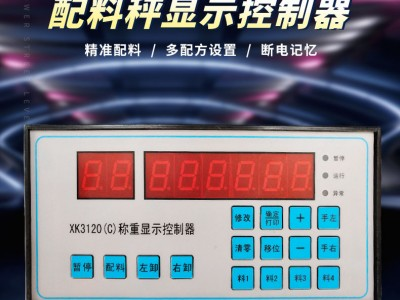 友成XK3120(C)搅拌站水泥秤称重显示控制器