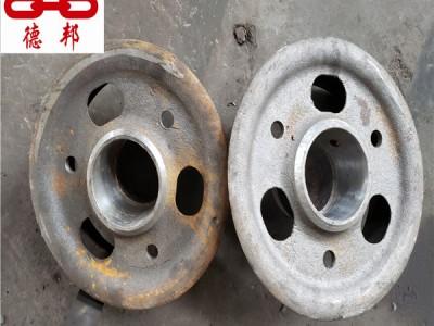 四川老式矿车轮 空心矿车轮 铸钢矿车轮