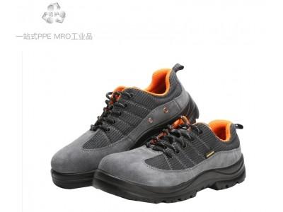 AEGLE羿科60725106舒透款灰色防静电鞋低帮安全鞋