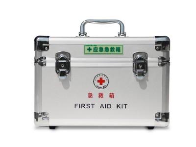 铝合金急救汽车户外家用医疗应急箱 蓝夫LF-16025急救箱