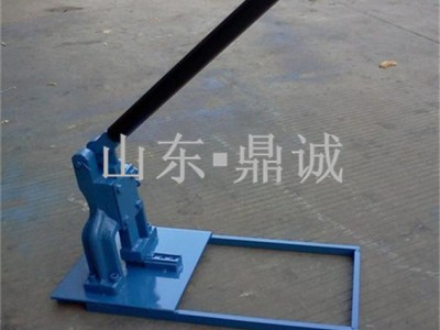 手動式晶鋼門鋁材沖孔模 鋁管沖孔機現貨廠家促銷