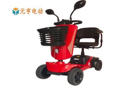 北京残疾人车双电池设计折叠代步车供应商