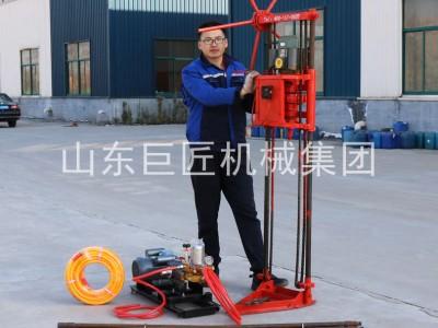 QZ-1A淺層巖芯鉆機小型取樣鉆機巨匠集團提供進尺快效率高