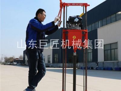 QZ-2B輕便巖芯取樣鉆機便攜式巖芯鉆機體積小重量輕