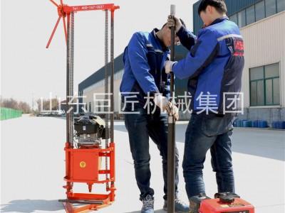 QZ-2C地質勘探鉆機巖心采樣鉆機巨匠集團提供移動方便