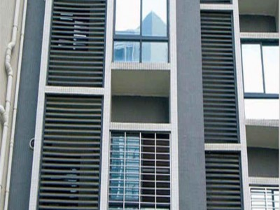 開封鋅鋼百葉窗 外墻百葉窗新力百葉窗直銷定制