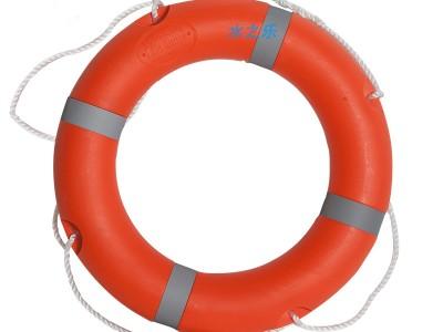 水上娱乐救生圈成人儿童游泳圈2.5kg游船游艇实心泡沫塑料圈