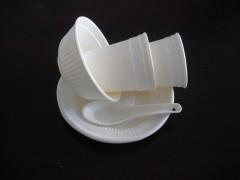 可以吃的纯淀粉全降解餐具及包装制品生产流水线网上展