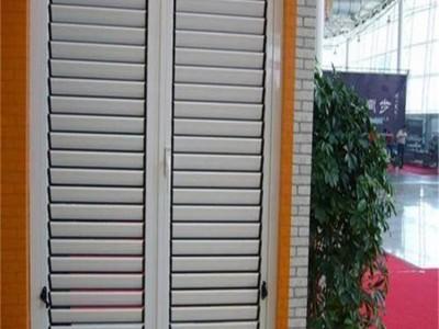 外墻百葉窗 鋅鋼百葉窗的特點是什么?