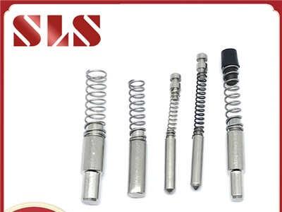 厂家直销不锈钢304弹簧销铝型材配件插销弹簧定位销