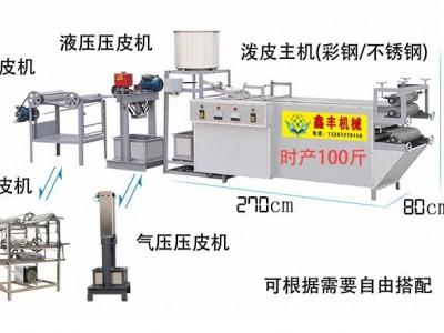自动豆腐皮机械 占地小效率高的豆腐皮机 不锈钢好清洗