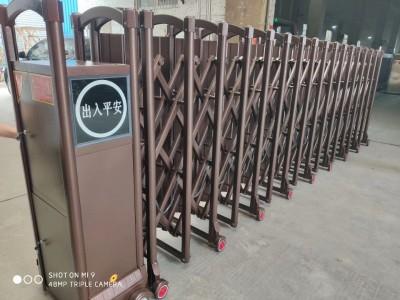 供應福建無軌電動伸縮門單軌,雙軌伸縮門