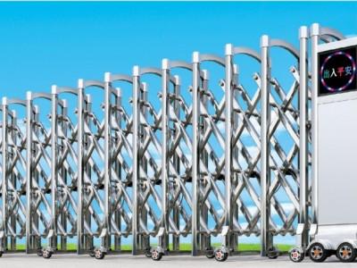 中山百勝電機伸縮門滾動顯示屏伸縮門工業區大門