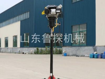 鲁探热销便携式勘探钻机BXZ-2L