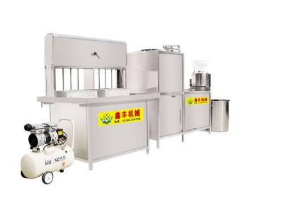 小型豆腐机价钱 豆腐机现场看生产 厂家直销