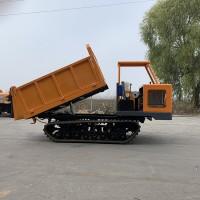 四缸小型履带式运输车视频 光伏电站运输钢筋运输车多少钱