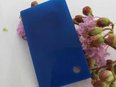 亚克力制品加工蓝色有机玻璃板定制塑料整板定制广告板材加工