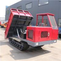 多功能4吨履带车 松软路面运输水泥履带翻斗车