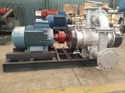 双向不锈钢材质蒸汽压缩机进口温度和输送介质
