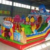 孩子们爱玩的充气城堡充气大滑梯蹦蹦床厂家直销支持定制