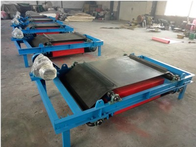 电厂用永磁自卸除铁器输送机皮带除铁器