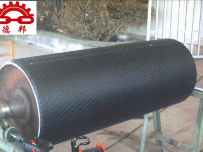 TD75型滚筒 改向滚筒铸胶输送带滚筒 输送机传动滚筒