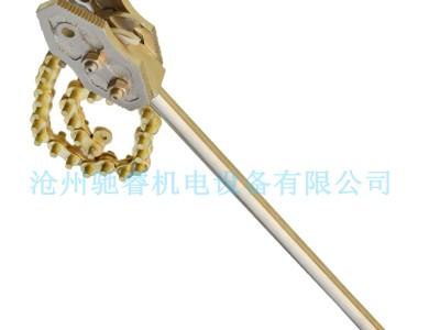 厂家直销铜合金防爆重型链子钳可定做