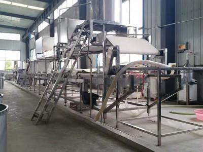 大型腐竹油皮机 数控多功能腐竹机械 一人操作包教技术