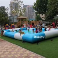小本投资摸鱼池决明子车广场沙池充气水池游泳池儿童戏水池
